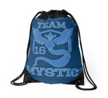 Team Mystic Pokemon Go Drawstring Bag