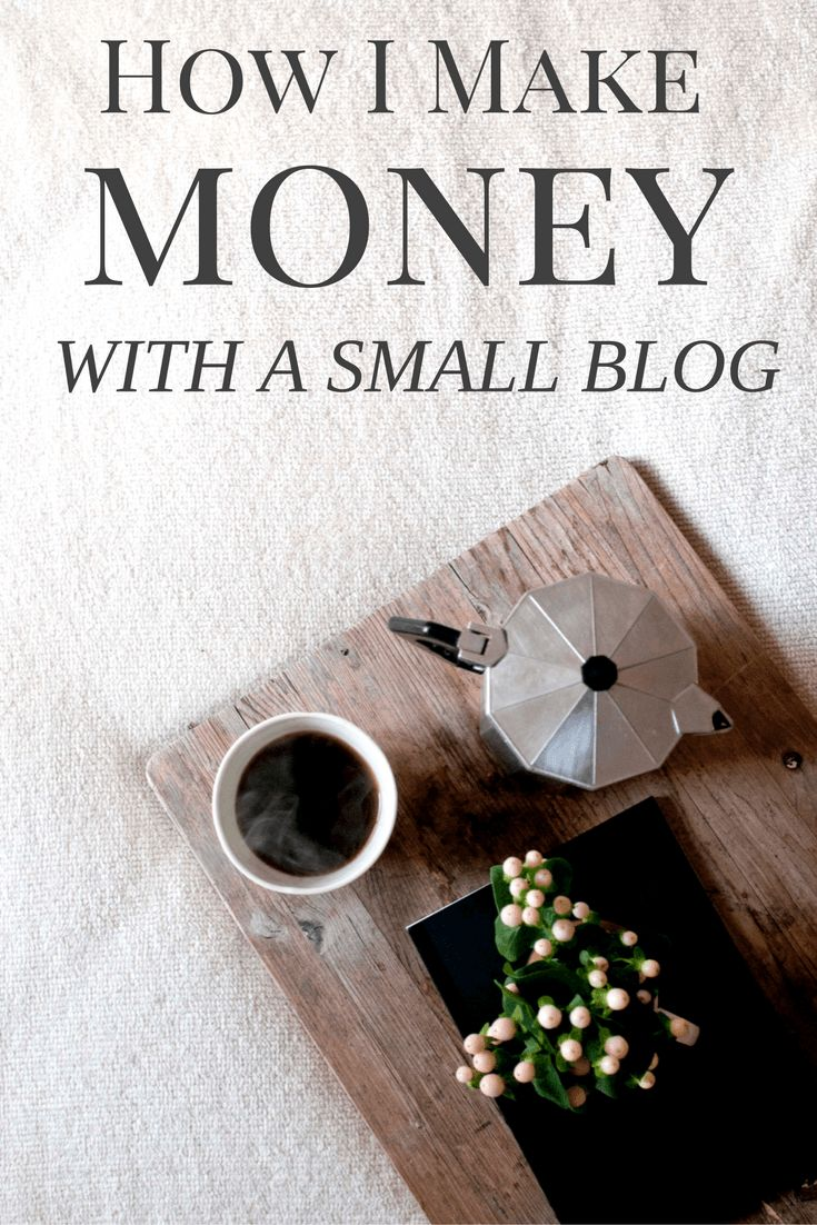 How I make money with a small blog! You don't have to have 100K+ pageviews to make a living online. I currently make $1500+ per month blogging and I have just 30-40K pageviews each month. Here are all my secrets, plus my income report for the month!