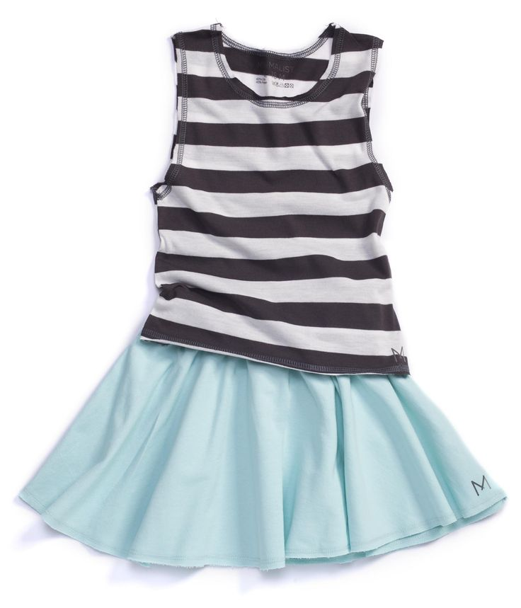 MINIMALIST #Mint #Skirt