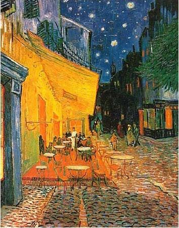 Vincent Van Gogh, Cafe Terrace At Night