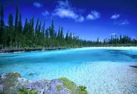 The Isle of Pines, New Caledonia. Good for the soul!