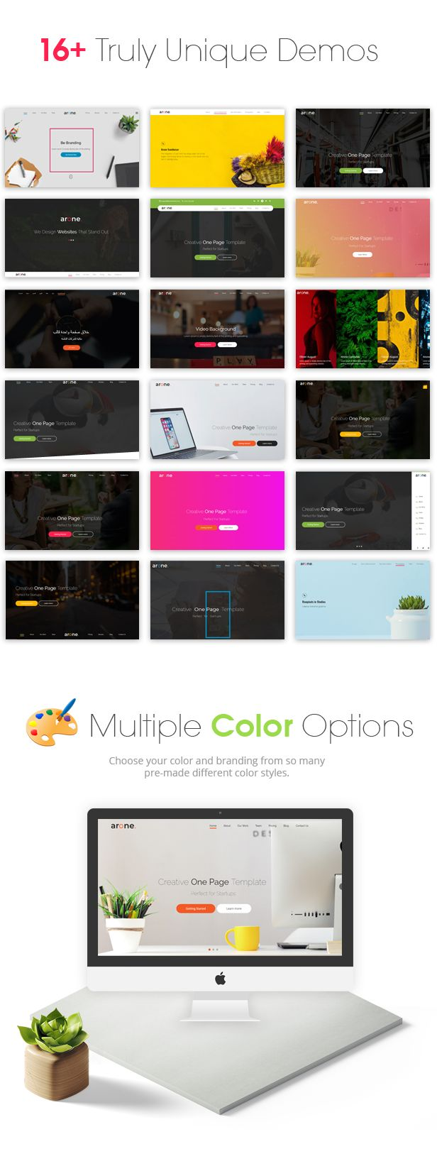 The 25 best jquery show animation ideas on pinterest flat web arone is one page parallax html5 and responsive template suitable for any creative or business nvjuhfo Images