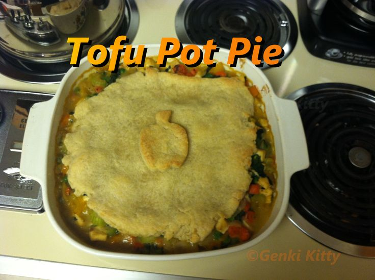 Tofu Pot Pie Recipe Vegan