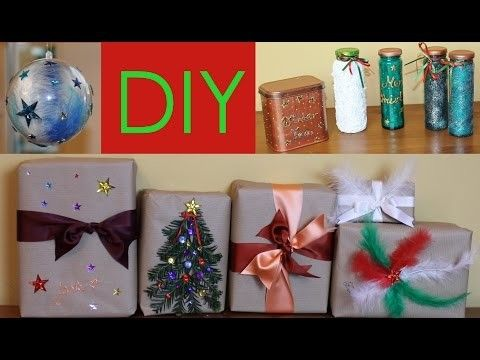 DIY originální balení vánočních dárků - Vánoce 2015 #8.9