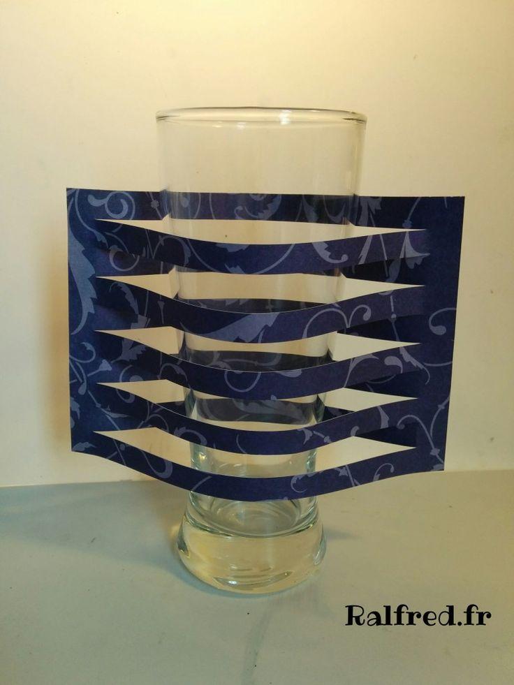 Une décoration de verre facile à réaliser