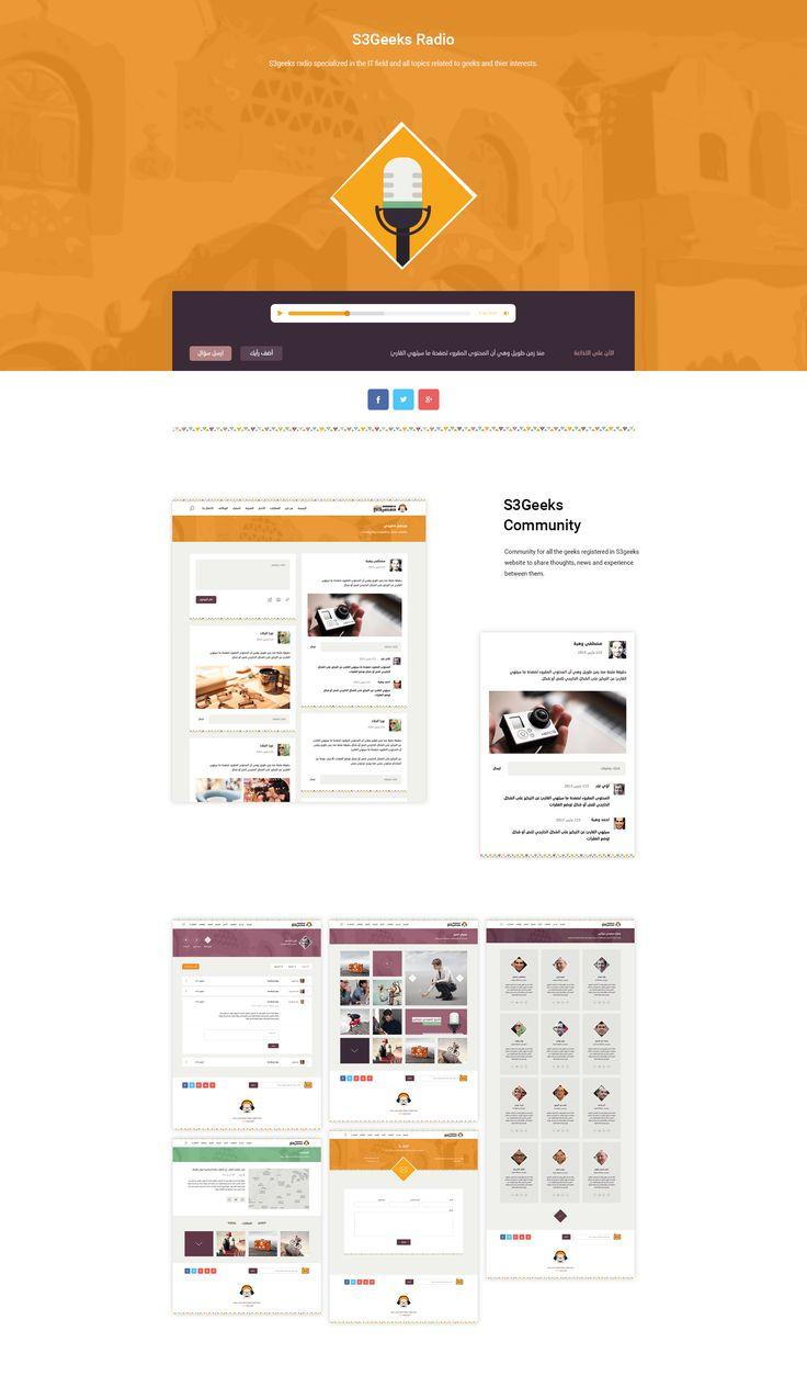 S3 Geeks Website Web Design