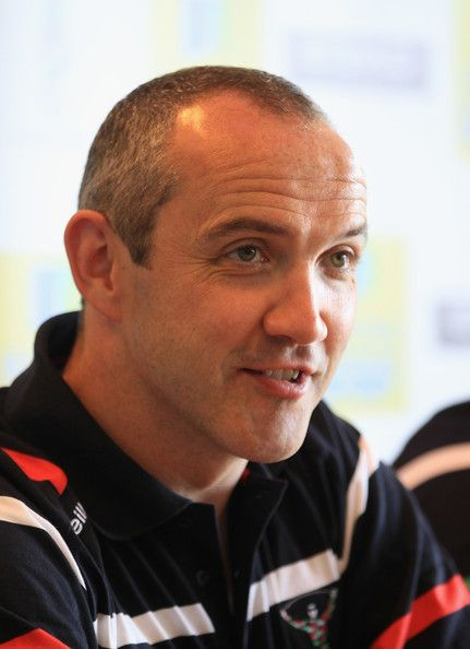 Conor O'Shea Photos Photos - Harlequins coach Conor O'Shea talks ot the press during the Harlequins Rugby media day at Surrey Sport Park on May 22, 2012 in Guildford, England. - Harlequins Media Day