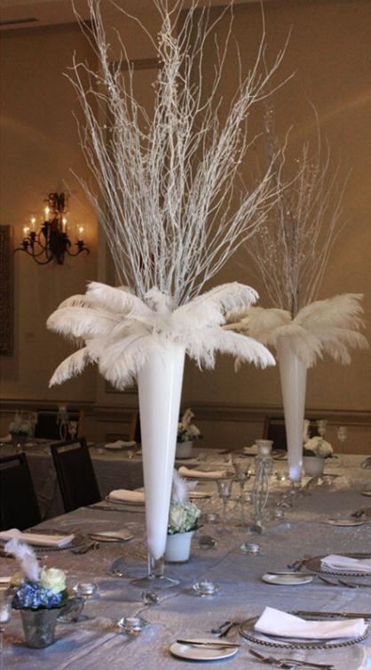 Best images about aa feathers tablescapes weddings on