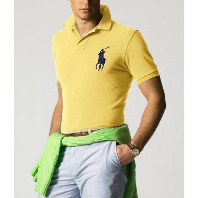 Online Ralph Lauren Mens Big Pony Polo T Shirts Outlet