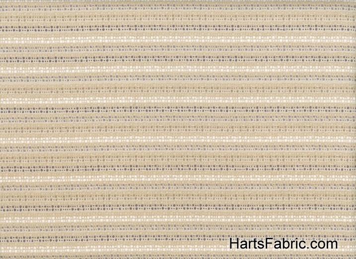 Anthology Raining Rainbow Dot Stripe Cotton Taupe