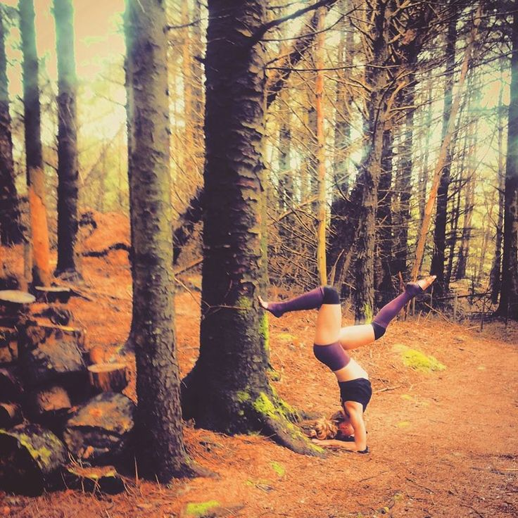 Being creative <3 Yoga in the Woods #MyYoga
