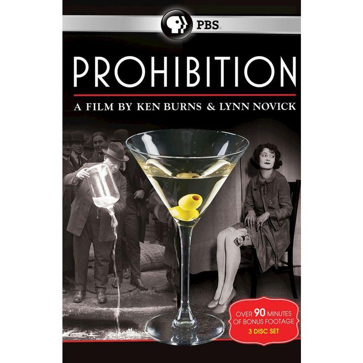 Prohibition: A Film by Ken Burns & Lynn Novick [3 Discs]