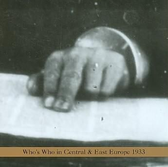 Arnold Dreyblatt - Who's Who in Central Europe & East Europe 1933