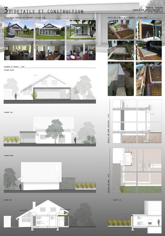 planche de pr sentation planches de rendu pinterest. Black Bedroom Furniture Sets. Home Design Ideas