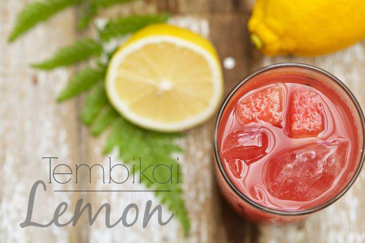 masam manis: Jus Tembikai Lemon