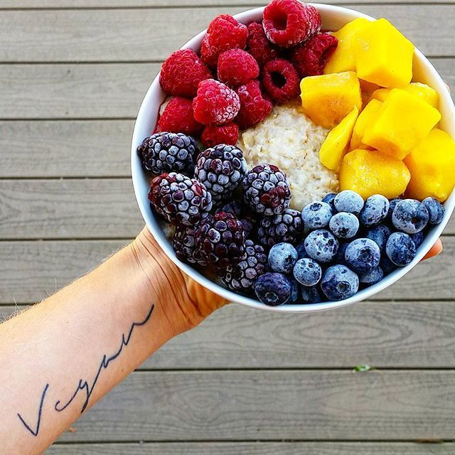 "Can't believe I've had this tattoo for almost a year now! Having ""vegan"" on my arm is a beautiful reminder every day as to why I continue to get out of bed every moring and work hard to purse this dietetics degree.  I will make a difference. I will keep fighting. I will continue to be an individual; going against the grain, and sticking to my beliefs. I will never stop being that weird vegan girl that's ""overly opinionated"", because honestly, I would never want to be anything less.  #vegan…"