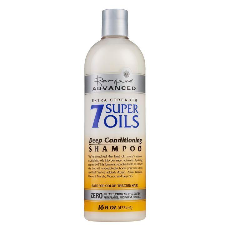 Renpure Advanced Extra Strength 7 Super Oils Deep Conditioning Shampoo - 16oz