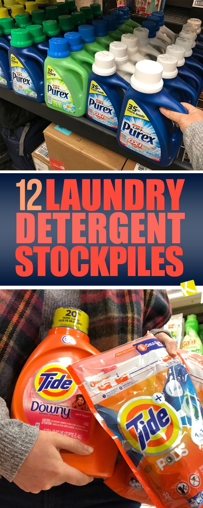 12 Laundry Detergent Stockpiles That Will Make You Envious