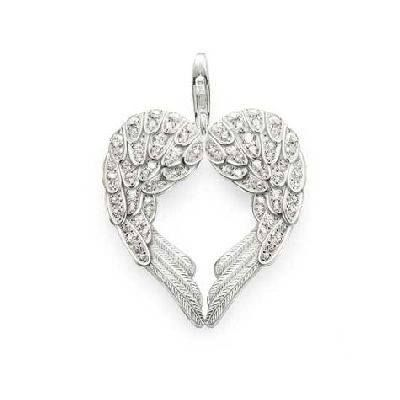 This Thomas Sabo pendant is beautifully feminine and right now it's on sale!