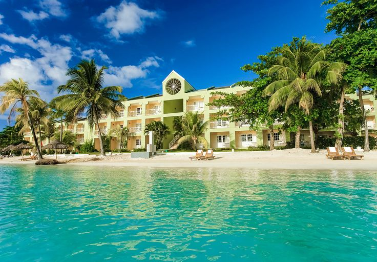 At Sandals Negril, no building is higher than the tallest palm tree.