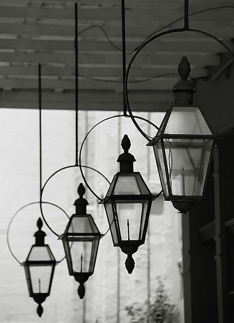 """New Orleans - Warehouse District """"Gas Lanterns"""" by David Paul Ohmer, via Flickr"""