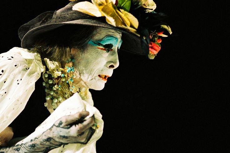 Kazuo ono - Amagatsu as an old woman
