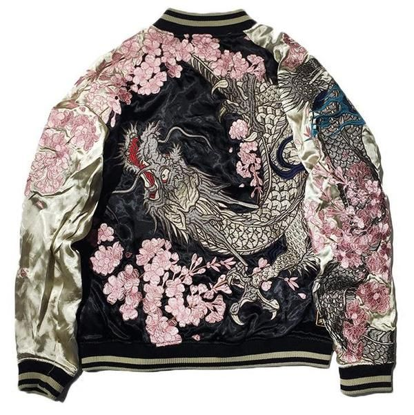 Sika Deer Sukajan Souvenir Jacket
