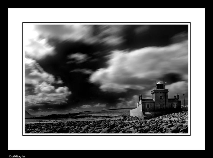 "Limited edition signed and mounted photographic print.  Taken in Blacksod in County Mayo, Ireland.  The photograph was taken using a process known as ""Infra-Red"""