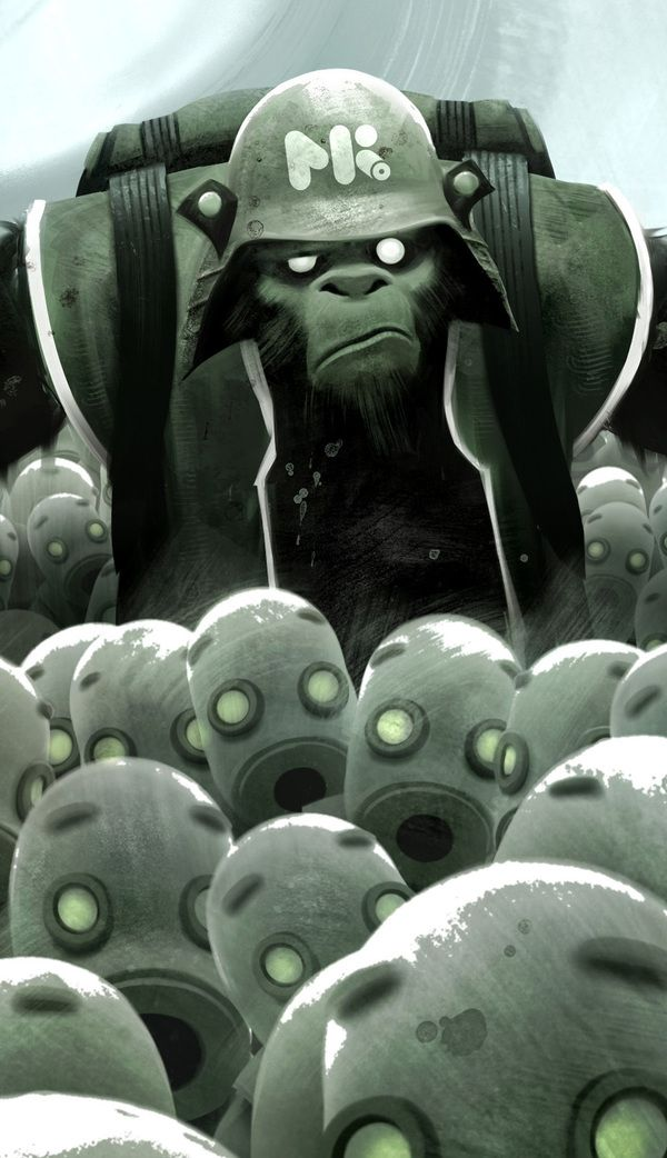 Plastic Army by Michael Kutsche, via Behance ★ Find more at http://www.pinterest.com/competing/