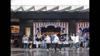 Myer Christmas Windows 2016 | TOT: HOT OR NOT
