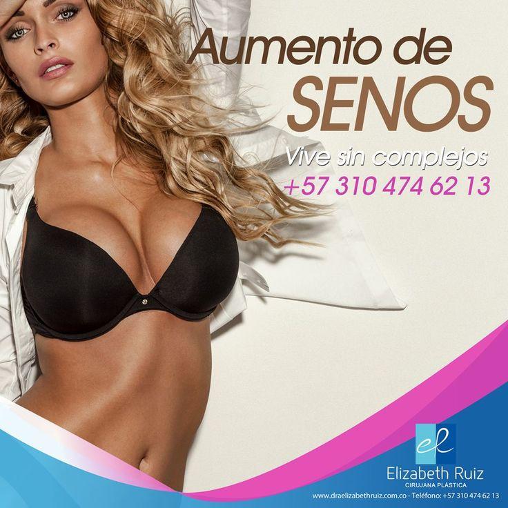 Aumento de Senos - Dra. Elizabeth Ruiz   No sólo se obtiene un pecho más voluminoso, sino que también aumenta el autoestima. Te sentirás llena de vida y segura de ti misma. ¡Nada podrá pararte! Vive sin Complejos!   Dra. Elizabeth Ruiz - Cirujana Plástica  #plasticsurgery #cirugiaplastica #plasticsurgeon  #cirujanaplastica #breastimplants #mamoplastia #breastaugmentation #aumentodesenos #breastsurgery #mamoplastiadeaumento #breastenlargement #implantesmamarios