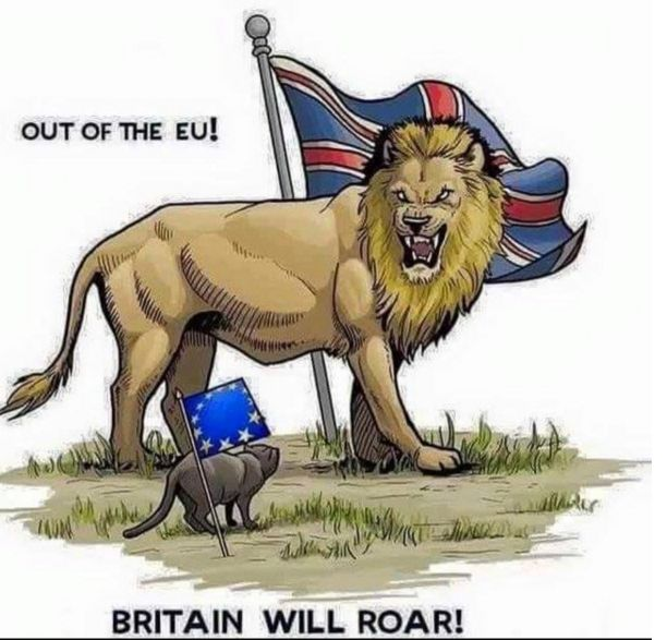 Out of the EU Britain will Roar!