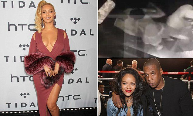 Beyoncé and Jay Z 'split for a year amid claims of Rihanna affair' #DailyMail