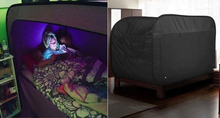 Découvrez la tente qui transformera votre lit en véritable forteresse de confort - Des idées