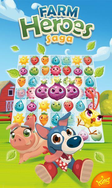 Farm Heroes Saga v2.56.3 [Mods] Apk Mod  Data http://www.faridgames.tk/2016/07/farm-heroes-saga-v2563-mods-apk-mod-data.html