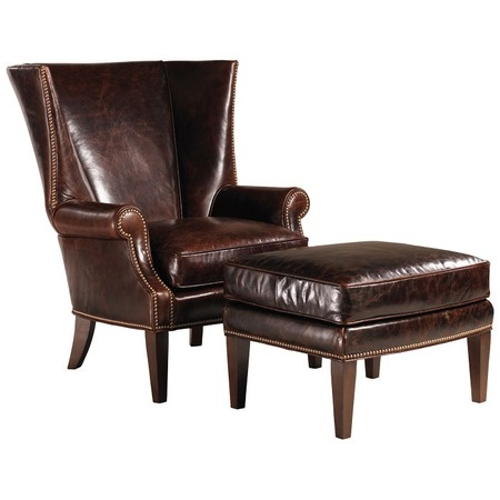 ottoman leather chairs leather leather furniture man cave furniture