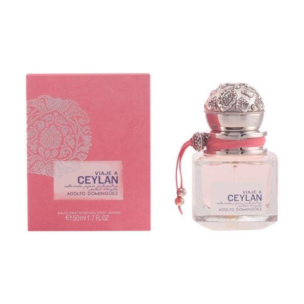 El mejor precio en perfume de mujer 2017 en tu tienda favorita https://www.compraencasa.eu/es/perfumes-de-mujer/7199-adolfo-dominguez-viaje-a-ceylan-woman-edt-vapo-50-ml.html