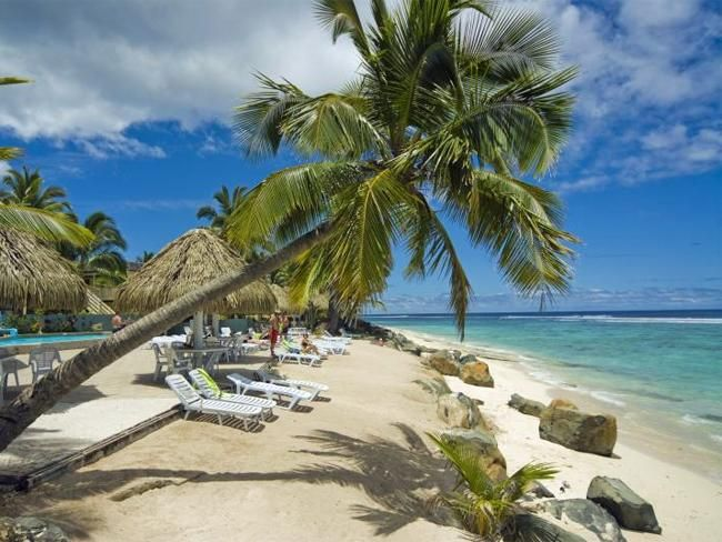 how to get to cook islands from atlanta