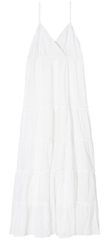 Robe noire et blanche gemo