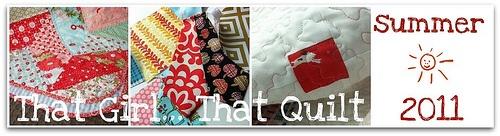 That girl... That quilt: Blog Banner {tutorial}