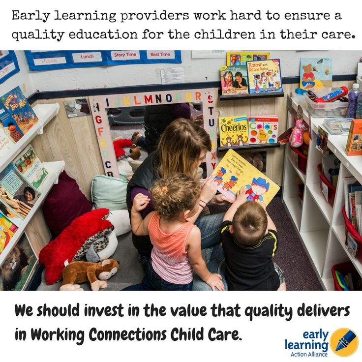 Early learning providers work hard to ensure