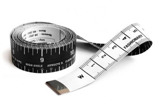 fashionary tape measure / VV Wishlist / Vosses