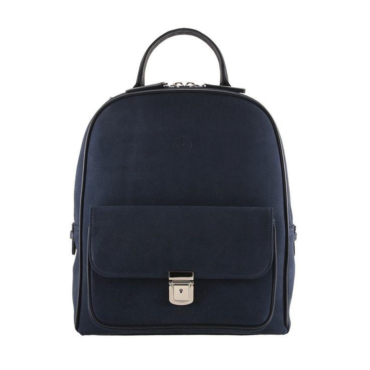 GION Joe Unisex Leather Laptop Backpack