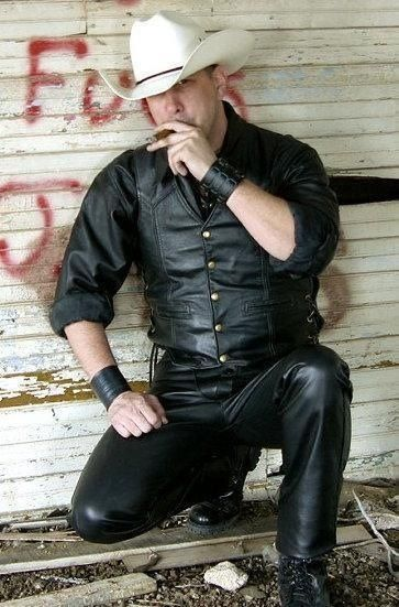 from Emmett gay leather cowboys