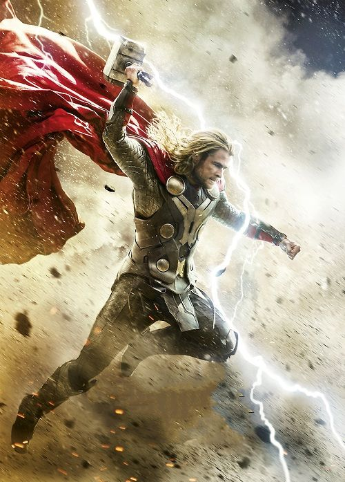 """Thor: The Dark World"" advance poster art"