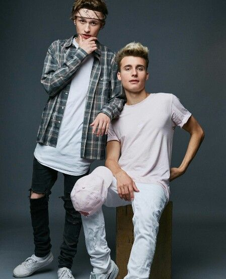 The Collins brothers Crawford Collins and Christian Collins