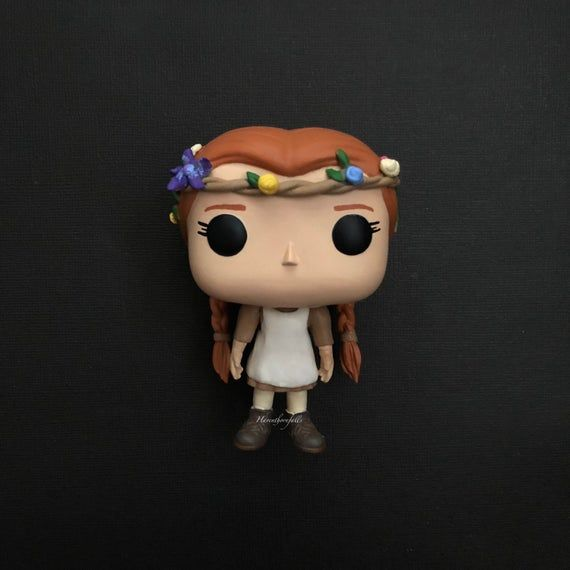 Anne Shirley Gilbert Blythe Anne With An E Custom Funko Etsy Custom Funko Pop Custom Funko Anne Shirley