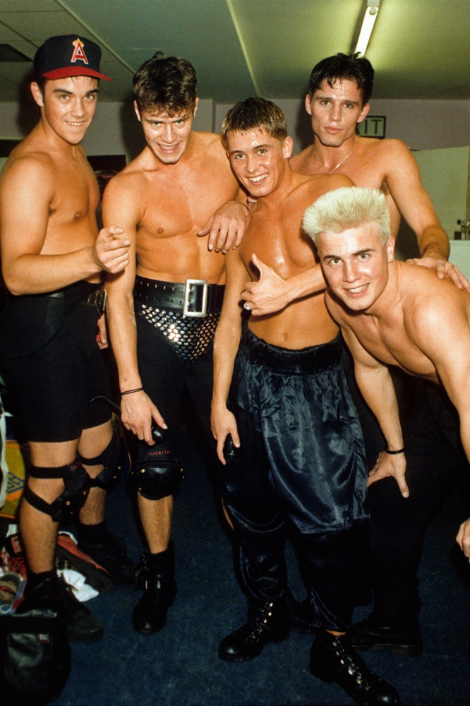 Gary Barlow and Take That in the beginning.