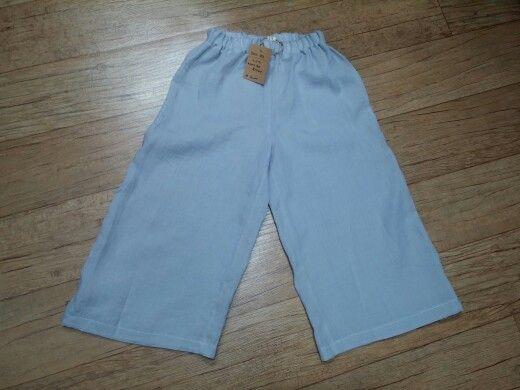 #Pure linen - Wide pants#handmade#바지#바지만들기