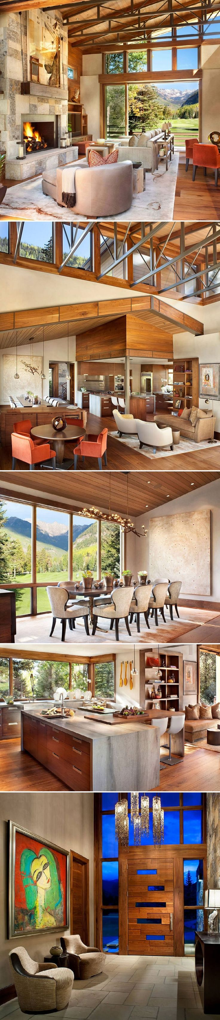 Ptarmigan Residence in Vail, Colorado, by Suman Architects